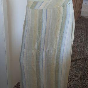 Telluride Clothing Co. Linen Maxi NWOT  Skirt